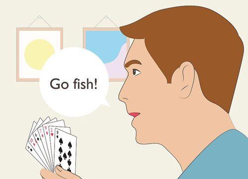بازی برو ماهی چگونه بازی Go Fish کنیم «به همراه تصویر»