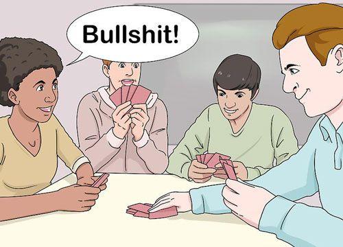 بازی مزخرف چگونه می توان بازی bull shit بازی کرد«تصویری»
