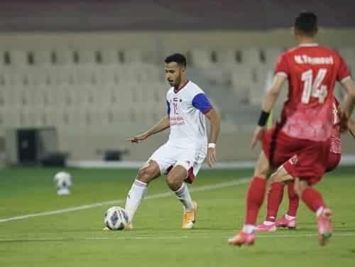 بازی تراکتور و الشارجه امارات در لیگ قهرمانان آسیا 2021