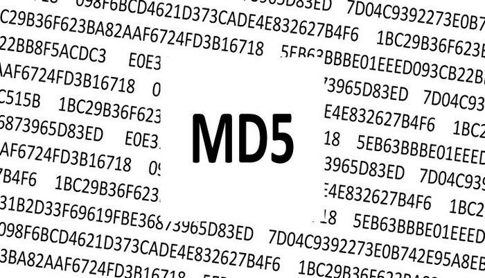 کدهای md5 انفجار