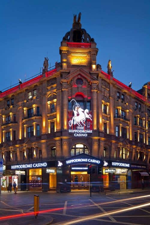 Hippodrome Casino کجاست
