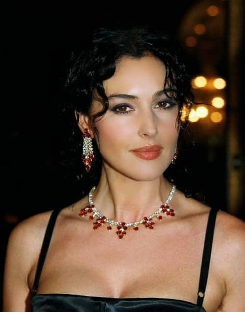 مونیکا بلوچی بازیگر زن ایتالیایی