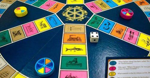 بازی پیگیری بی اهمیت «Trivial Pursuit» و سایت شرط بندی
